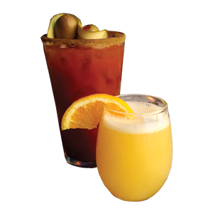 Bloody Mary or Mimosa